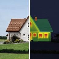 Haus mit Klimaschutzfassade