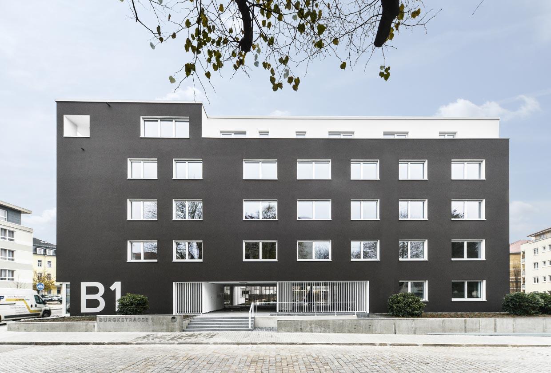 FIRA Neubau Burgkstr. 1 in Dresden